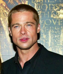Brad Pitt is famous for having large masseter muscles on the side of his jaw