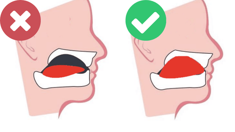 the correct mewing tongue posture