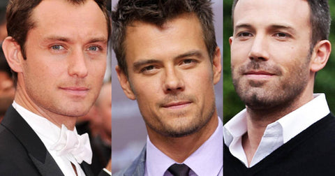 Hollywood stars all have define jawlines