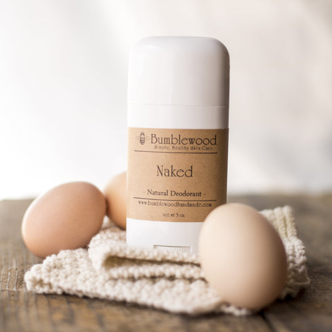 Naked (Unscented) Deodorant