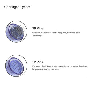 Cartridges tips for dr pen ultima a6 36 pins 12 pins