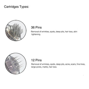 Cartridges tips for dr pen ultima a7 36 pins 12 pins