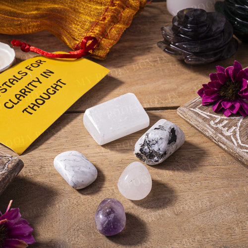 Clarity in Thought Crystal Healing Tumble Stone Set