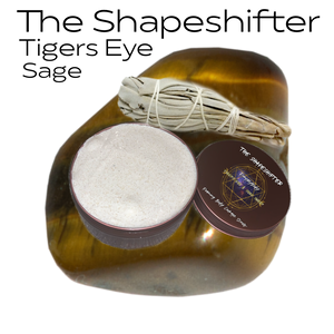 The Shapeshifter-Tigers Eye and Sage Foaming Body Sugar Scrub