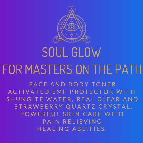 Soul Glow Face and Body Toner EMF Protection with Shungnite and Quartz (Pre-Order Now)