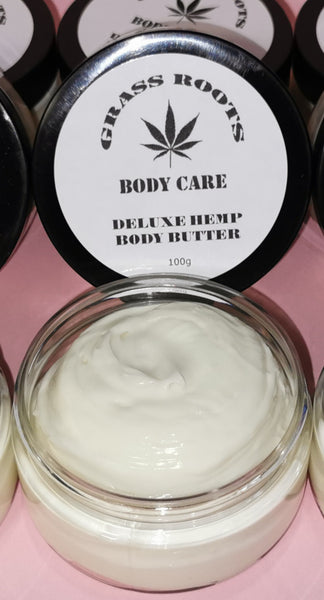 Hemp Body Butter Deluxe 100g