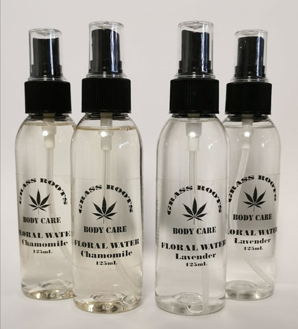 Floral Water - 100% Natural Hydrosol Toner 125mL
