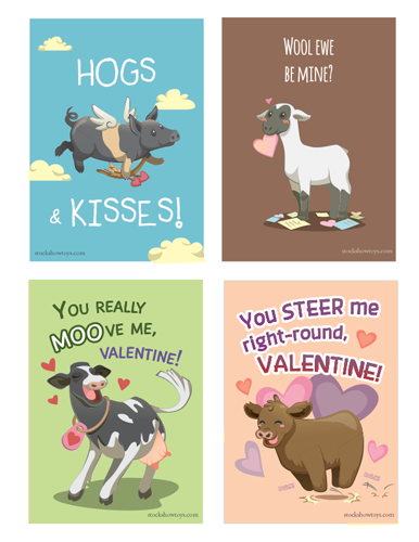 Stock Show Valentines Day