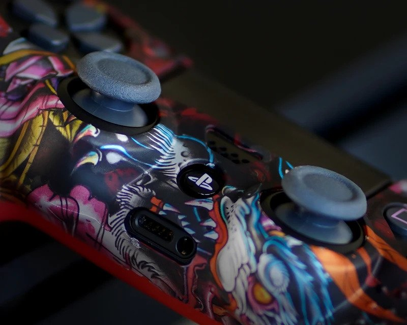 GAMOSKIN™ silicone skin for ps4 controller