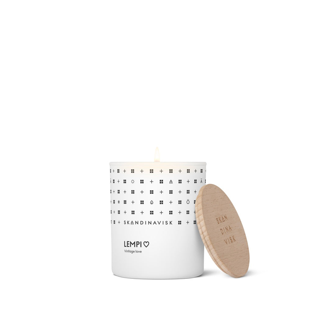 LEMPI Scented Candle w Lid 200g