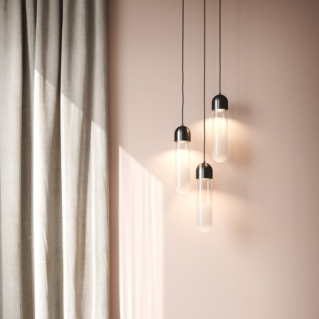 Firefly | LED Pendant | Copper