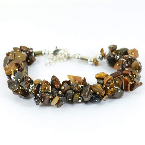 Tiger Eye Crystal Healing Bracelet