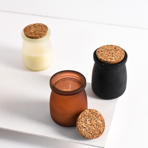 Scented Jar Candles (Set of 3)
