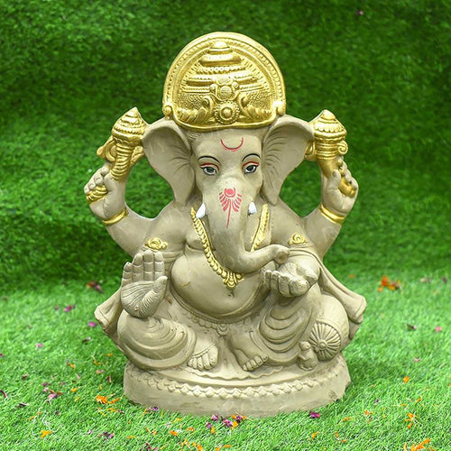 1.5FEET Kripalu Eco-Friendly Ganpati | Plant-A-Ganesha