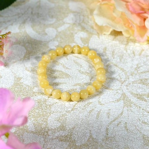Yellow Calcite Bracelet