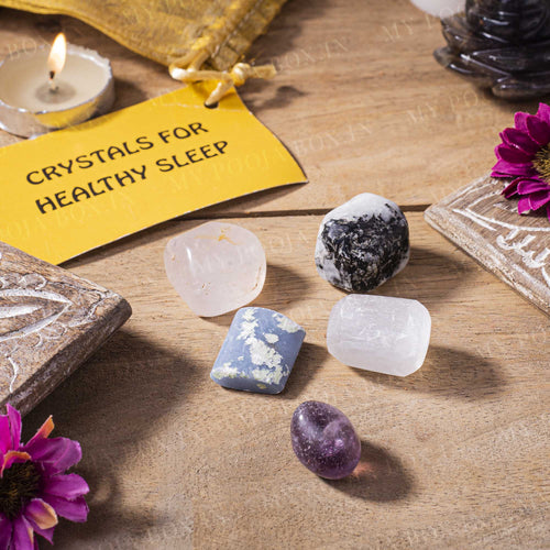 Healthy Sleep Crystal Healing Tumble Stone Set