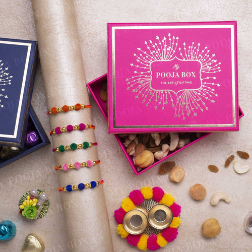 Serendipity Beautiful Rakhi Gift Box