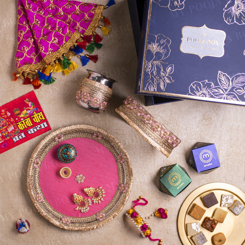Blossoming Gift Box for Karwa Chauth