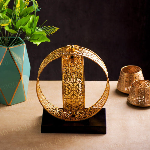 Aranya Iron Luminary Candle Holder