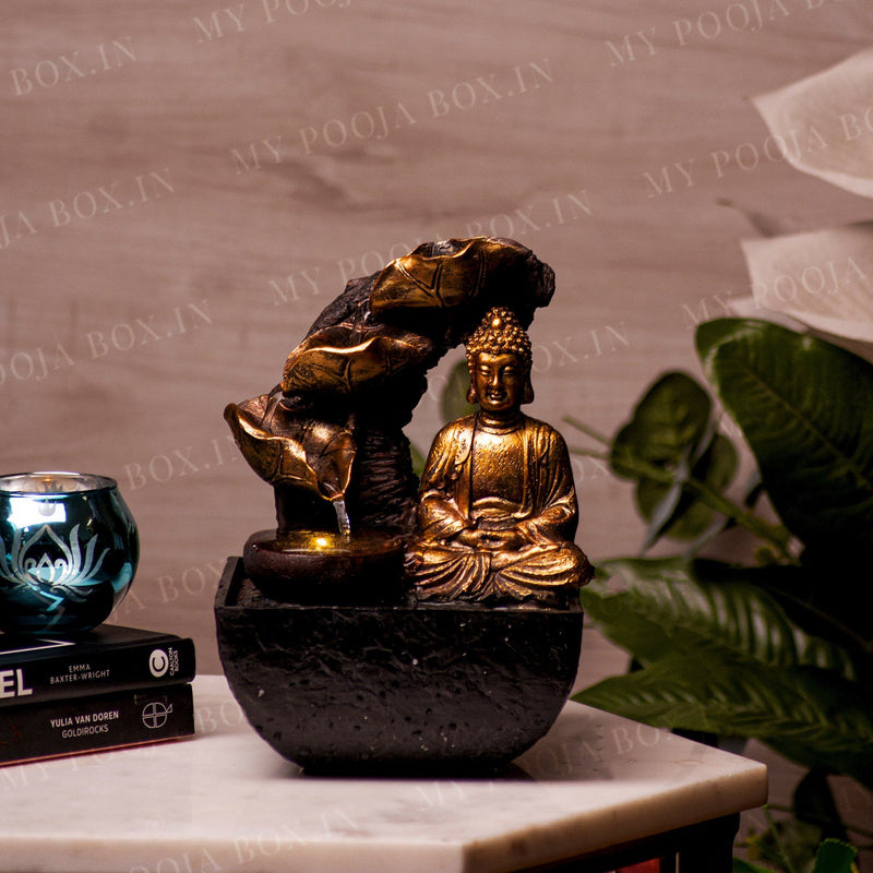 Stunning Lord Buddha Water Fountain