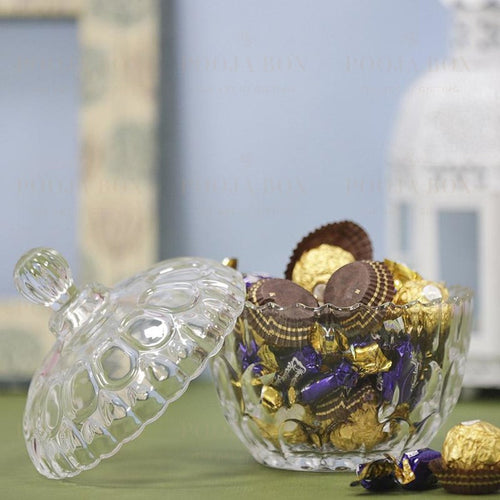 Alluring Chocolate Container With Lid Crockery