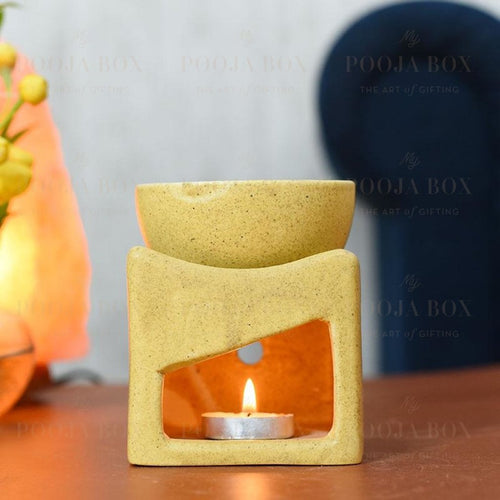Handcrafted Cube Shaped Aroma Diffuser Aroma Diffuser