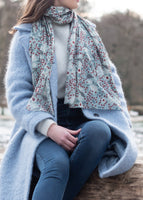 Rowan Bird Cotton Scarf