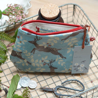 Reindeer Small Oilcloth Purse