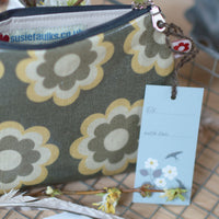 Martha Ochre Small Oilcloth Purse