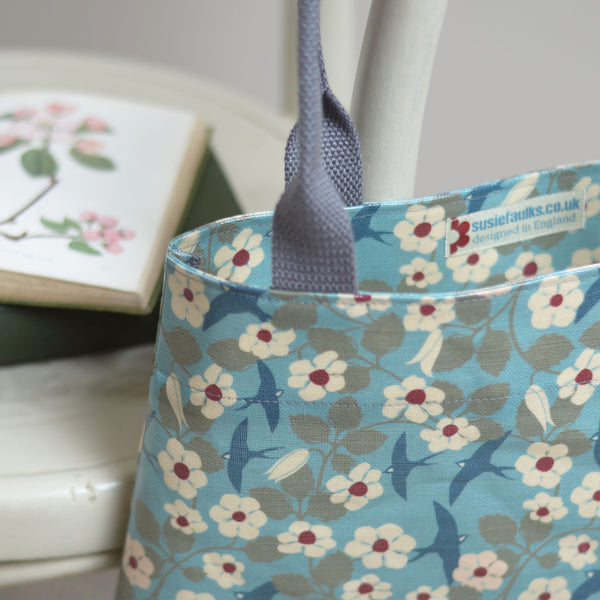 Swifts Oilcloth Tote Bag