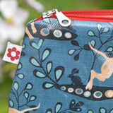 Whippet Oilcloth Purse
