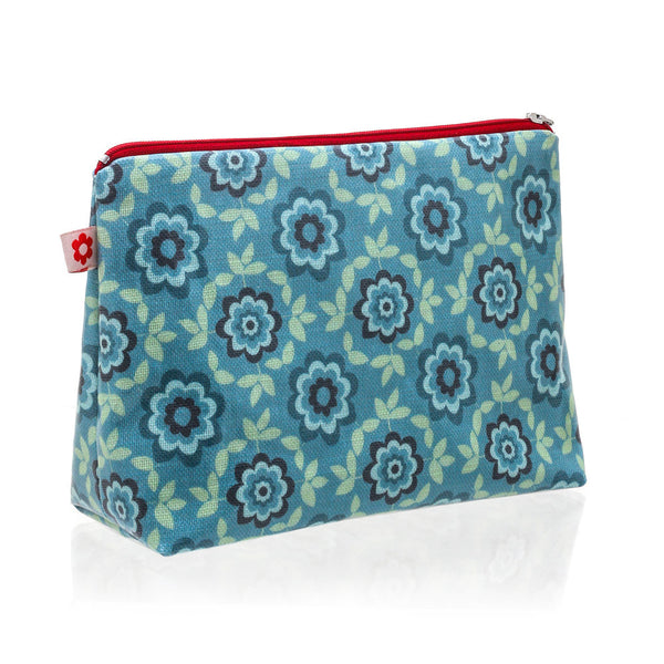 Betty Blue vegan oilcloth washbag by Susie Faulks