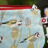 Goldfinch Oilcloth Purse