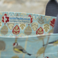 Goldfinch Oilcloth Tote Bag