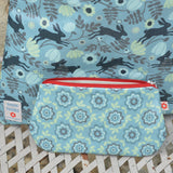 Betty Blue vegan oilcloth purse by Susie Faulks