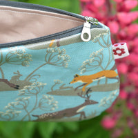 Fox & Deer Oilcloth Purse