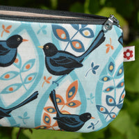 Blackbird Oilcloth Purse