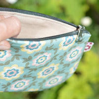 Betty Duck Egg vegan oilcloth purse