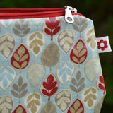 Leaf Oilcloth Purse