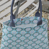 Betty Pink vegan oilcloth tote bag by Susie Faulks