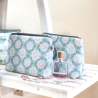 Betty Pink vegan oilcloth washbag by Susie Faulks