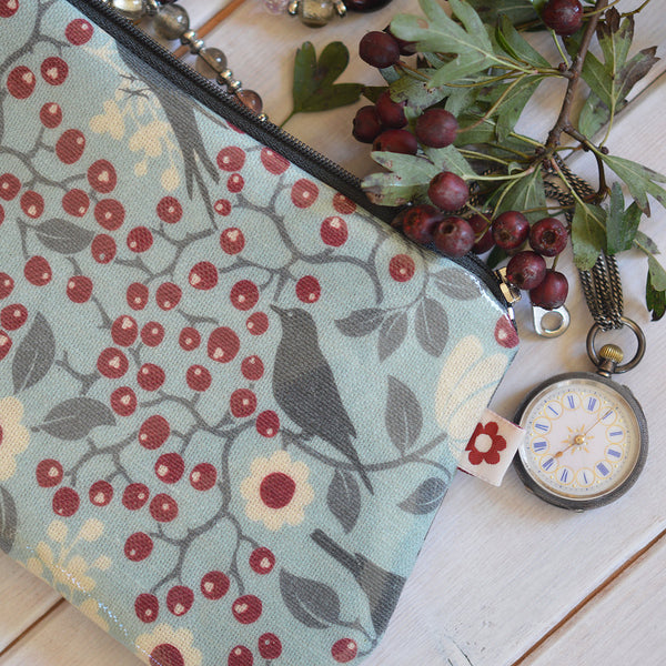 Rowan Bird Oilcloth Purse