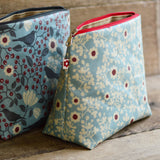 Constance Oilcoth vegan washbag by Susie Faulks