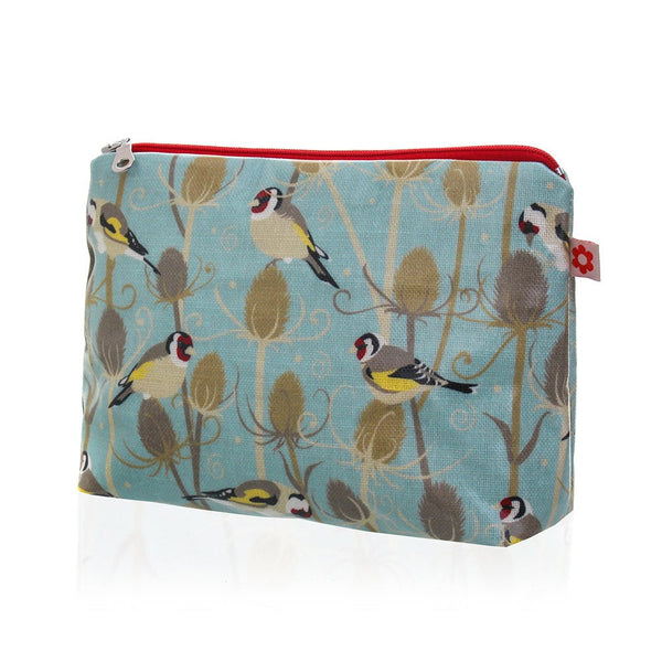 Goldfinch Oilcloth Washbag