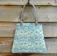 Hector Terrier Oilcloth Tote Bag