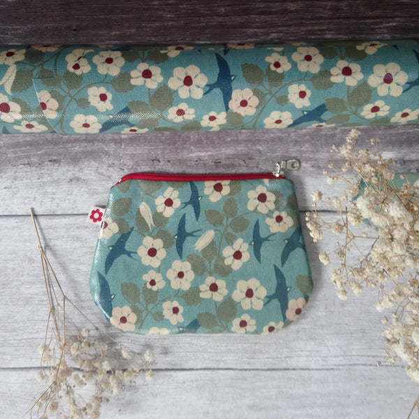 Swifts Small Oilcloth Purse