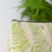 Fern & Bee Oilcloth Washbag