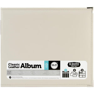 "We R Classic Leather D-Ring Album 12""X12"""