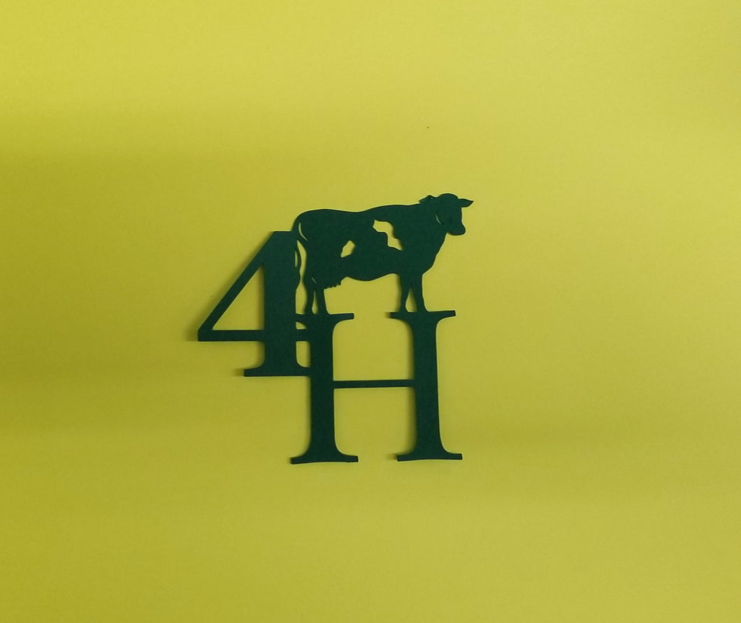 4H Cow Die Cut