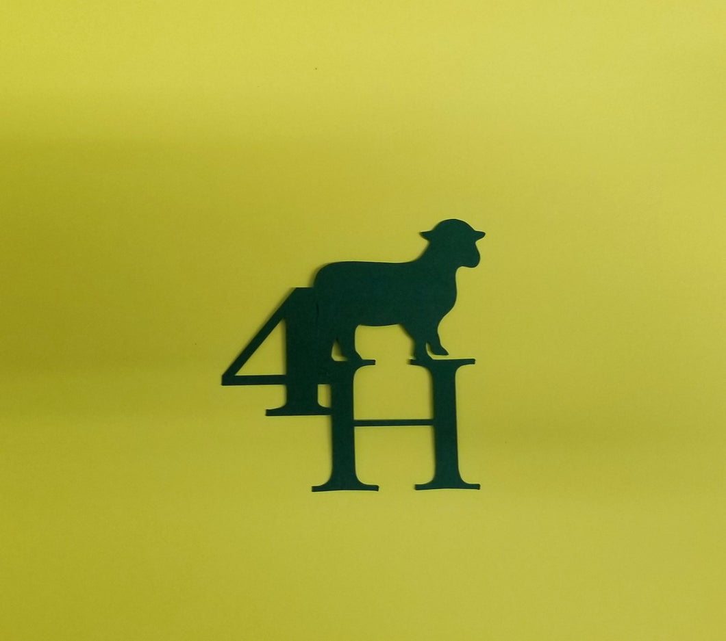 4H Sheep Die Cut
